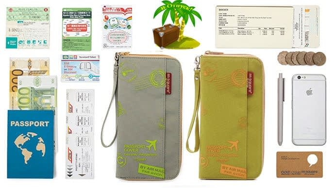 Фото ассортимент деталей, для которых предназначен серый и зеленый органайзер для документов