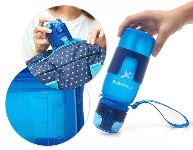 Фото герметичность силиконовой бутылочки для воды