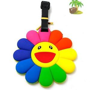 """ВВ-22 Бирка для багажа Цветочек фото анфас товары для путешественников интернет-магазин """"В Отпуск"""" от SeredinaLeta"""