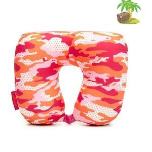 MS-060 Дорожная подушка милитари розовая главное фото. Товары для отдыха. Интернет-магазин В Отпуск!