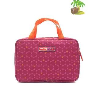 Главное фото косметичка розовый ромбик с вешалкой. Товары для отдыха. Интернет-магазин В Отпуск