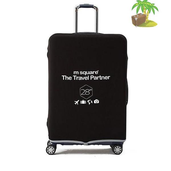 Главное фото черный эластичный чехол размер L для большого чемодана высотой 66-76см. Товары для отдыха. Интернет-магазин В Отпуск