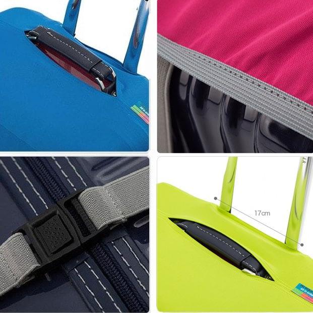 Фото демонстрация деталей изготовления чехлов для чемоданов Travel Partner. Товары для отдыха. Интернет-магазин В Отпуск