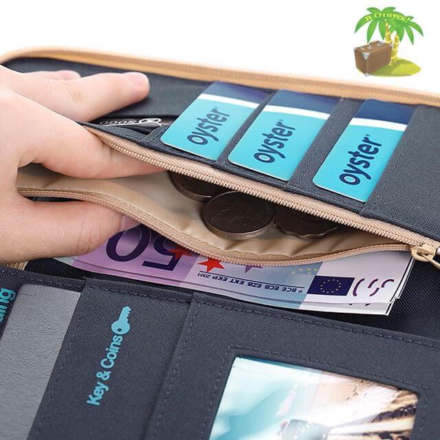 Фото наполнение дорожного органайзера деньги, ключи, визитки