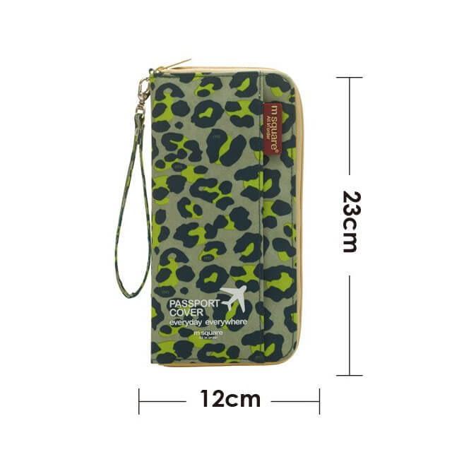 Фото размеры дорожного органайзера цвета зеленый леопард